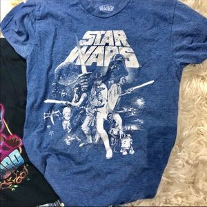 Stars Wars Graphic Tee in blue